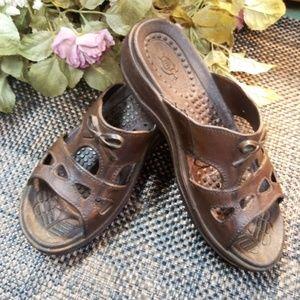 Women's Pali Slip on Sandals size medium